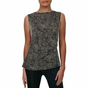 MSRP $39 Anne Klein Womens Pebble Dot Suit Tank